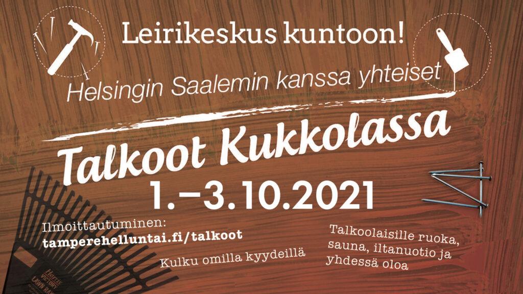 Kukkola Talkoot 2021